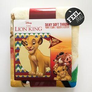Disney The Lion King silky soft throw kids blanket